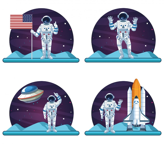 Astronautes et galaxies