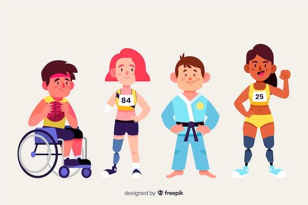 Athlète handicapé