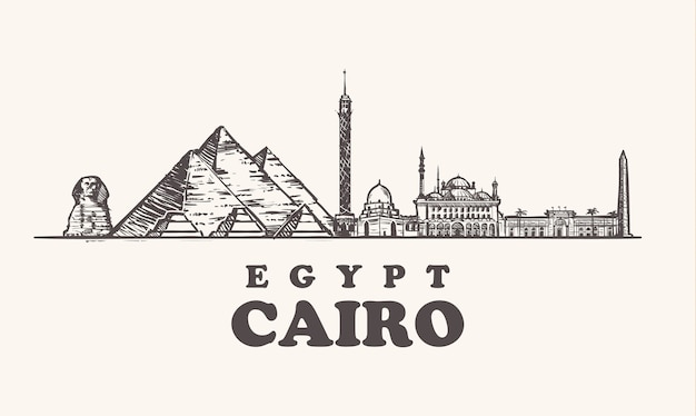 Attractions au caire, égypte