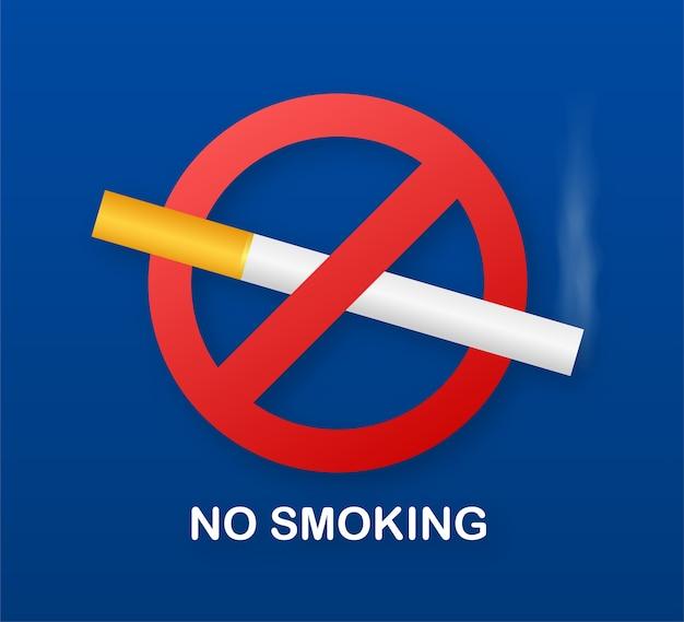Aucun signe de fumer