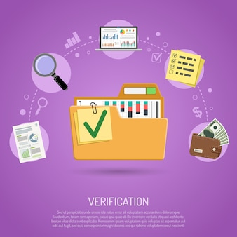 Audit et concept de comptabilité d'entreprise
