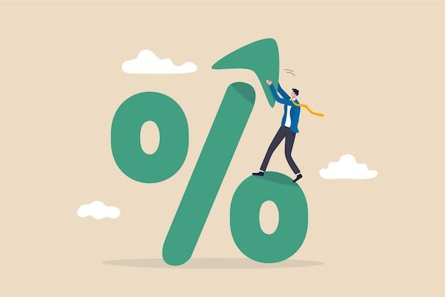 Augmentation du taux d'intérêt, de la taxe ou de la tva.