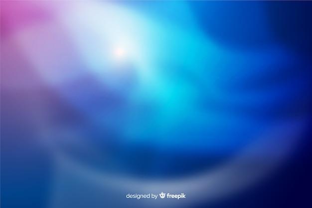 Aurores boréales bleu fond décoratif