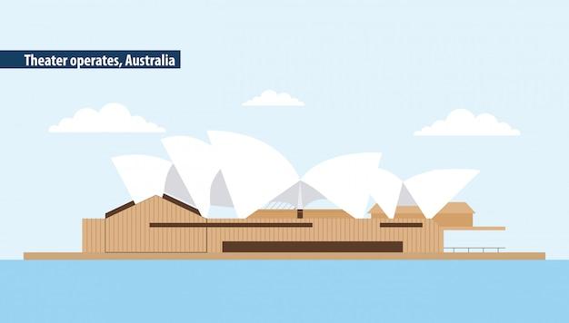 Australie théâtre d'opéra