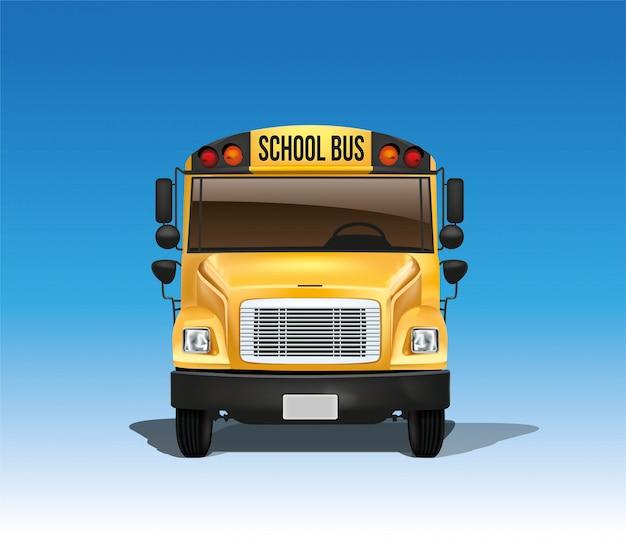 Autobus scolaire en vecteur