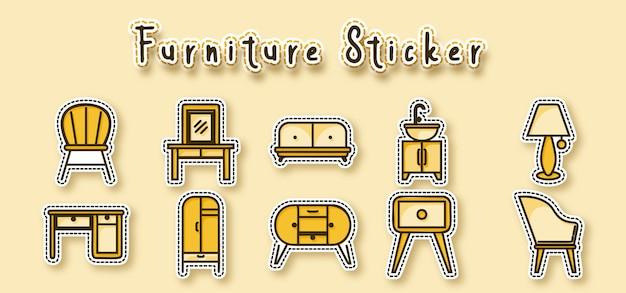 Autocollant de meubles