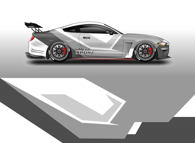 Autocollant de voiture design pour véhicule