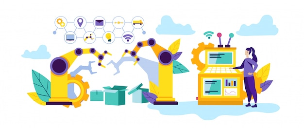 Automatisation et technologie