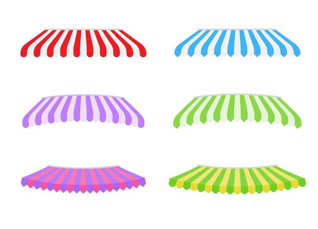 Auvent de magasin. auvent de protection contre la pluie pour les magasins franchisés