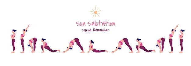 Avant les poses de yoga de sommeil jeune femme pratiquant des poses de yoga