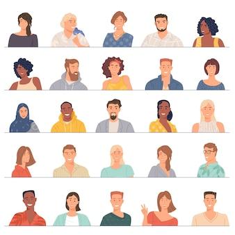 Avatar d'une équipe commerciale diversifiée