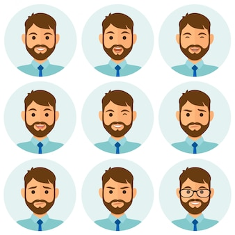 Avatar d'expressions d'affaires