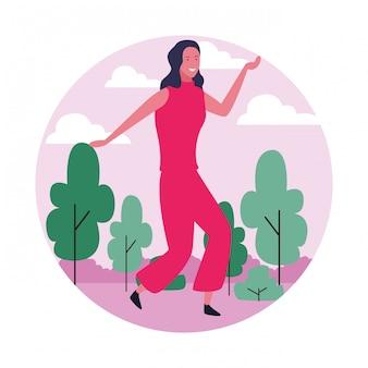 Avatar femme dansante