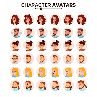 Avatar de gens d'affaires