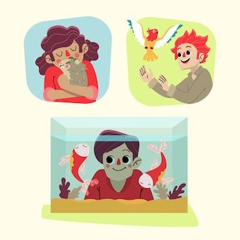 Avatar de gens drôles avec leurs animaux domestiques