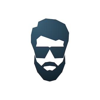 Avatar d'homme barbu