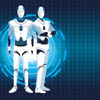 Avatar robot humanoïde