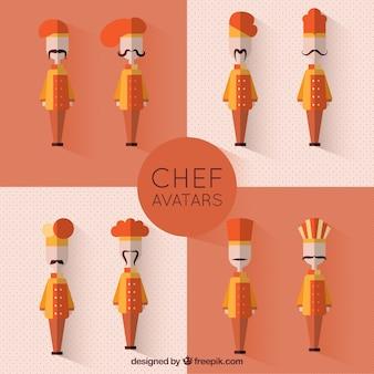 Avatars de chef