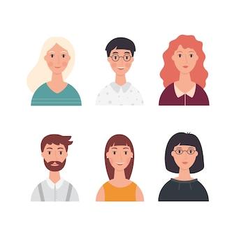 Avatars de personnes