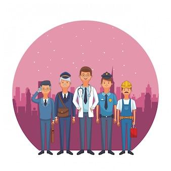 Avatars de profession et d'occupation