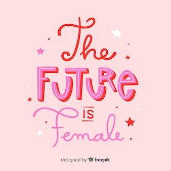 L'avenir est une femme