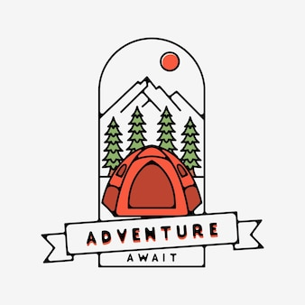 L'aventure attend la conception monoline