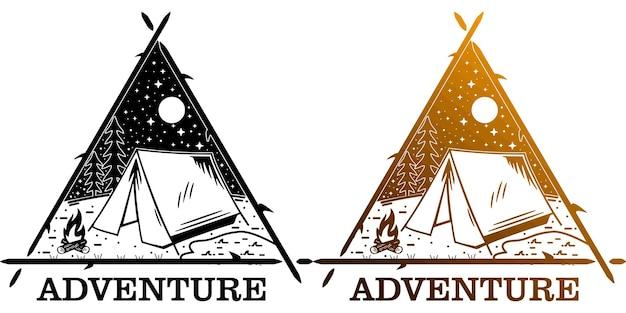 Aventure avec triangle