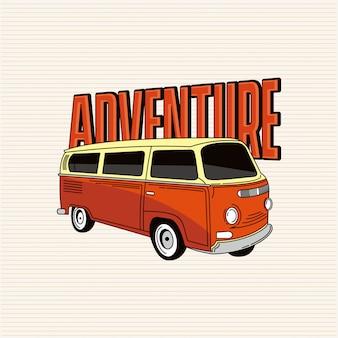 Aventure avec van