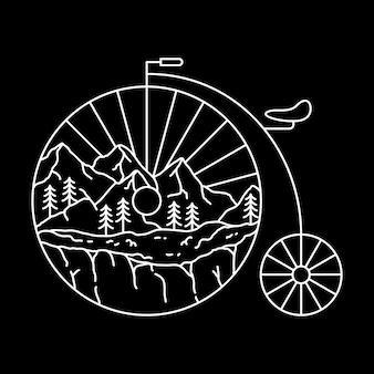 Aventure à vélo classique