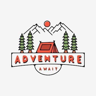 L'aventure vous attend avec la conception monoline de la tente