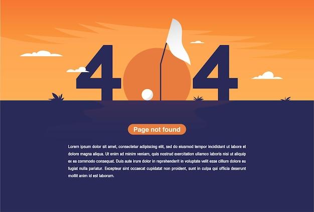 Avertissement de réseau internet 404 page d'erreur ou fichier introuvable pour la page web