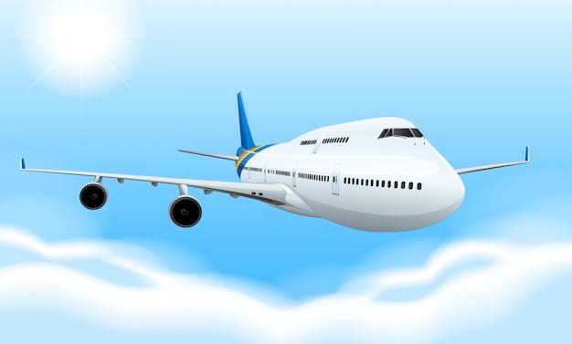Avion Commercial Vecteur gratuit