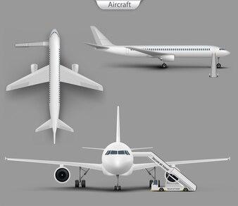 Avion réaliste, jeu de maquette d'avion