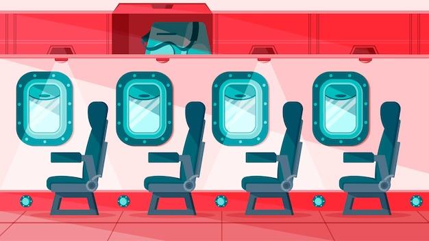 Avion - scènes d'intérieur