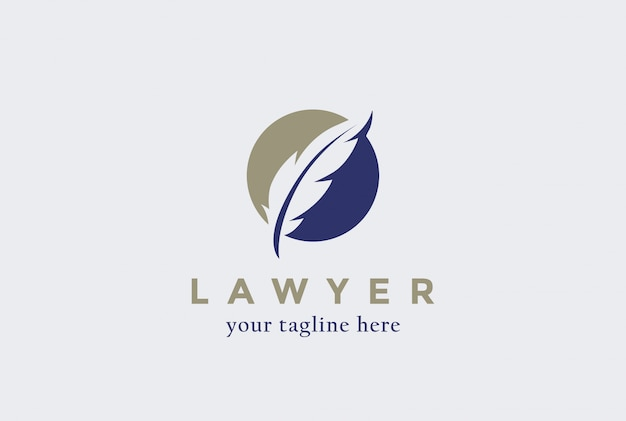 Avocat icône du logo du cabinet d'avocats.