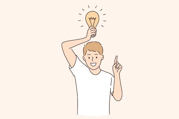 Avoir une idée d'entreprise et un concept d'innovation