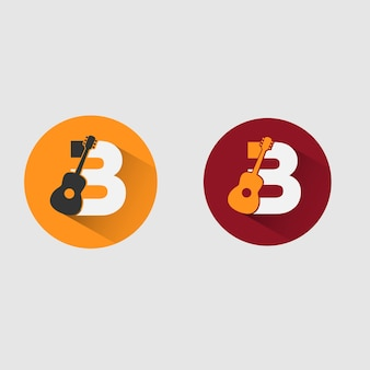 B logo de musique