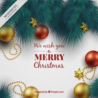 Babioles christmas background