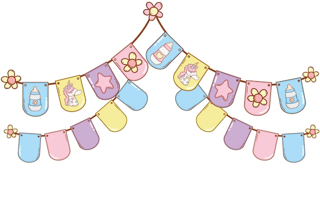 Baby pennants party