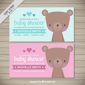 Baby shower invitations lovely ours