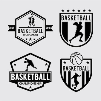 Badge de basket-ball et logo