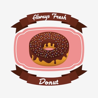Badge de beignets sucrés