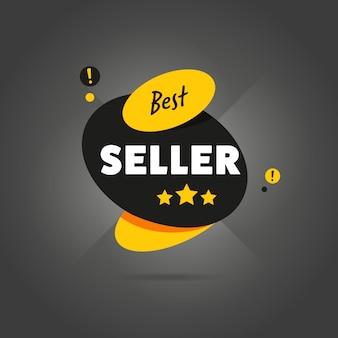 Badge best seller plat