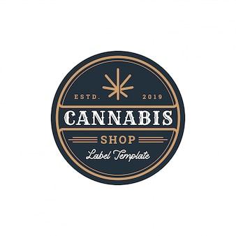 Badge de cannabis