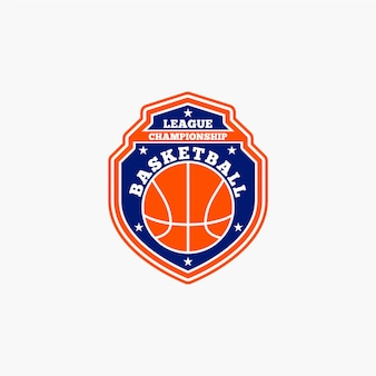 Badge de club de basketball
