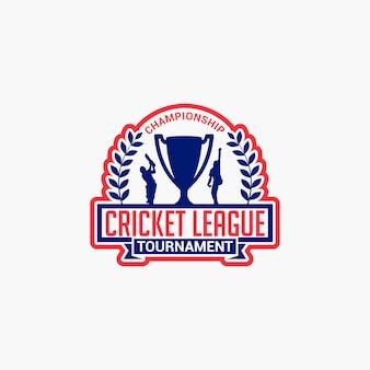 Badge de club de cricket