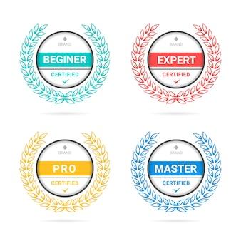 Badge de critères certifiés