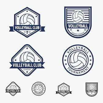 Badge de volleyball
