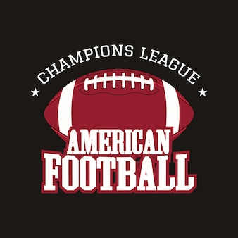 Badge de football américain