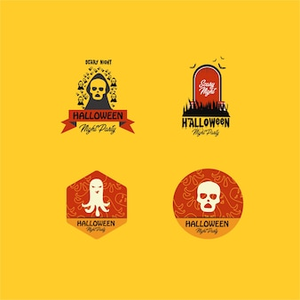Badge d'halloween